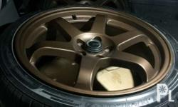 18 inches TE37 magwheels for Chevrolet Cruze Very