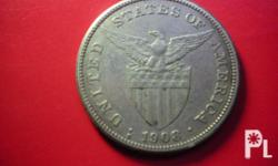 Deskripsiyon Unused US-Phil 1908 silver coin. A