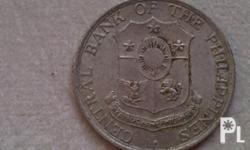 CIRCULATED 1964 TEN CENTAVO COIN IN EXCELLENT CONDITION