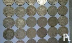 i have 85pcs. of 1972 piso coins, text or call