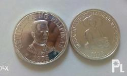 Philippine commemorative silver coins 1975 emilio