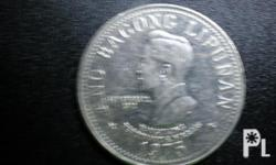 Deskripsiyon Unused Genuine Five Peso Coin. Limited