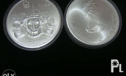 1976 10$ & 5$ Montreal Canada Olympic Silver Coins