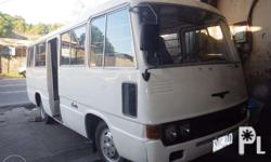 4 cyl, gasoline, massive miles, many times renovated,