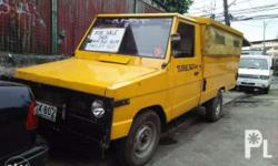 Toyota Tamaraw high side pickup with roof Engine: