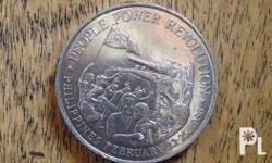 Rare Philippine 1988 Ten Peso coin. Starting bid is at