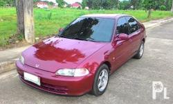 FOR SALE 1995 Honda Civic ESi All-Stock, never been