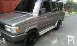 1995 toyota fx gl gas cold dual aircon good running