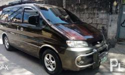 1998 Hyundai Starex SVX Diesel, Matic Transmission, All