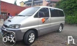 hyundai starex a/t very strong engine very contemporary