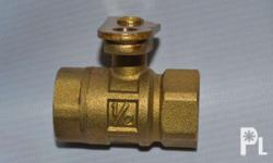 1/2� Brass Ball Valve with lockwing (Heavy Duty) --