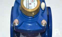 flange type E-jet brand water flow meter, designed with