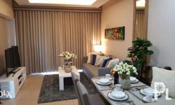 1 Bedroom 65 sqm. with open kitchen and a bathroom.