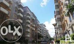 Semi Furnished with 1 Bedroom with cabinet, split type