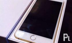 Fs: 1 month old iPhone 6plus 16gb gold Factory unlock