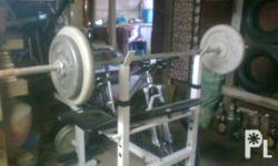 Deskripsiyon 1 Set Bench Press with 4 Plates ( 20