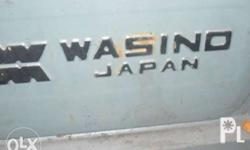 1 unit bench lathe machine wasino brand made in japan ,