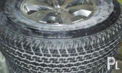 Slightly use,but very good condition -size 265/70R16