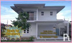 2-Storey Ready for Occupancy House - DOWNTOWN Davao