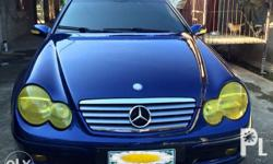 2001 Mercedes Benz C200 KOMPRESSOR 2dr Sports Car