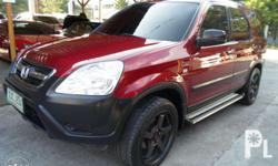 03 CRV 4X2 A/T (285T) 1st own 75kms loaded 18s mags