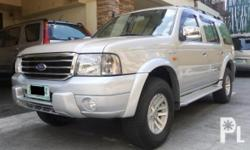 Deskripsiyon 2004 FORD EVEREST XLT 4X4M/T IN GREAT