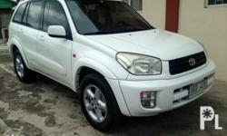 selling my dads toyota rav4 automatic tranny all power