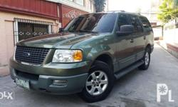 Ford Expedition XLT 2004 Series / Body A/T 1st owned