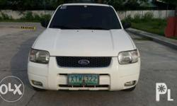 2005 Ford Escape XLT 4x4 Php269,000 negotiable upon