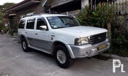 2005 model FORD EVEREST XLT 4X4 4WD Manual