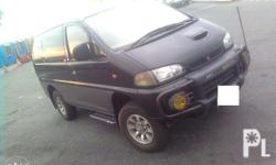 2005 Mitsubishi Space Gear 4x4 diesel automatic Please