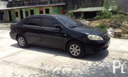 2005 toyota altis 1.6E automatic Well maintained cold