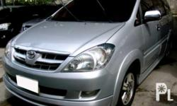 Description Make: Toyota Model: Innova Year: 2005 Type