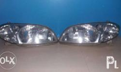 Head Lights Assembly for Toyota Vios Variant 1.3E 2005