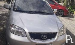For sale Toyota vios E Manual transmission Cool aircon