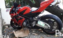first owned bought brandnew at 900k plus Honda CBR