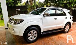 RUSH SALE Toyota Fortuner V Series Diesel 2006 Top of