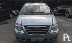 2007 Chrysler town & country all options leather seats