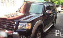 For sale 2007 ford everest All stock Orig paint with