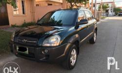 FOR SALE / FOR SWAP : 2007 Hyundai Tucson 2.0 Gas A/T -