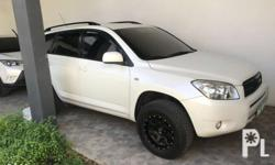 For sale: 2007 Toyota Rav4 4x2 a/t White Pearl Complete