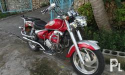 2007 Skygo BIG Motor Cycle in Excellent Running