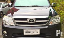 2007 toyota fortuner g with diesel engine, automatic