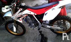 2008 HONDA CRF 150CC -FOUR STROKE -LOADED -BOYESES
