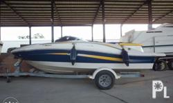 Pre-owned 2008 searay speedboat is for sale for a very