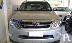 Gawin: Toyota Modelo: Fortuner Mileage: 57,000 Kms
