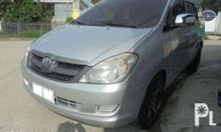 2008 toyota innova diesel and manual, preserved to its