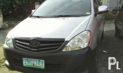 For sale toyota innova j diesel well maintained 405,000