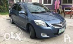 2008 Toyota Vios 1.5G Auto Blue 63,000 km now as low