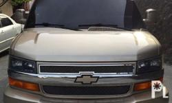 2009 chevrolet savana limited edition, top of the line,